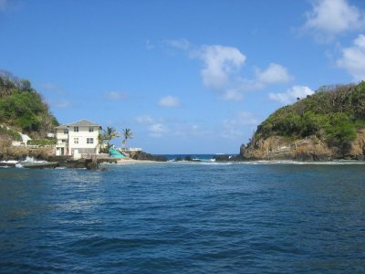 Boat trip to Little Tobago, snorkelling off Goat Island